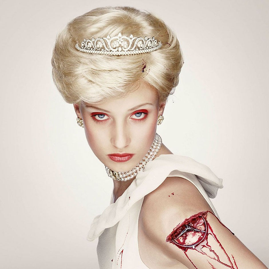 Lady Di Royal Blood de Erwin Olaf